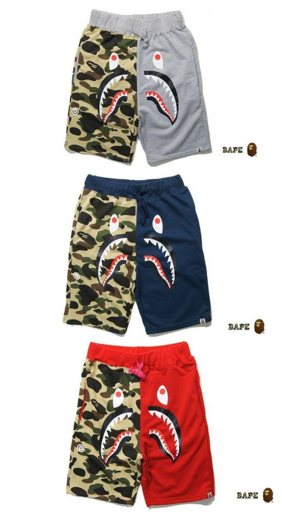 9be1decb Bathing ape shorts in 2019 | A Bathing Ape | Mens boots fashion ...
