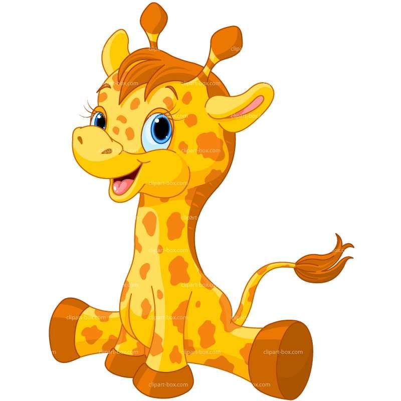 CLIPART GIRAFFE   Royalty free vector design   Animal clip ...