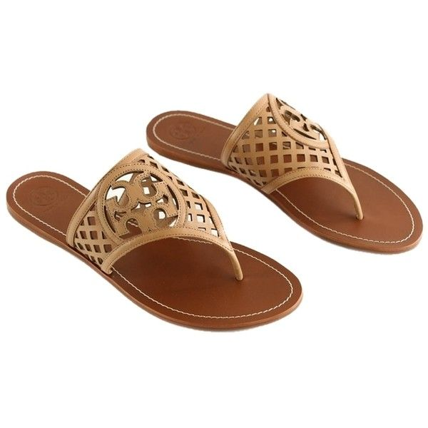 Pre-owned - Leather sandal Tory Burch SMHZOaBqm0