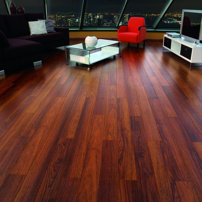 Finsa Style Collection Laminate Flooring Classic Merbau Thumbnail