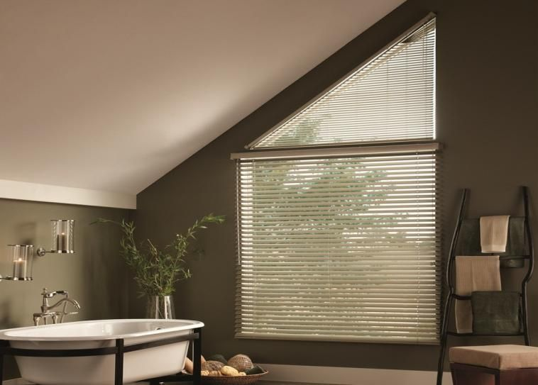 Aluminum Blinds For Angled Windows Always A Great Solution