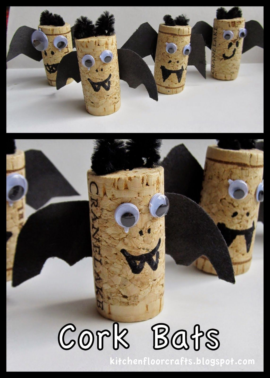 Kitchen Floor Crafts Cork Bats Kitchen Floor Crafts
