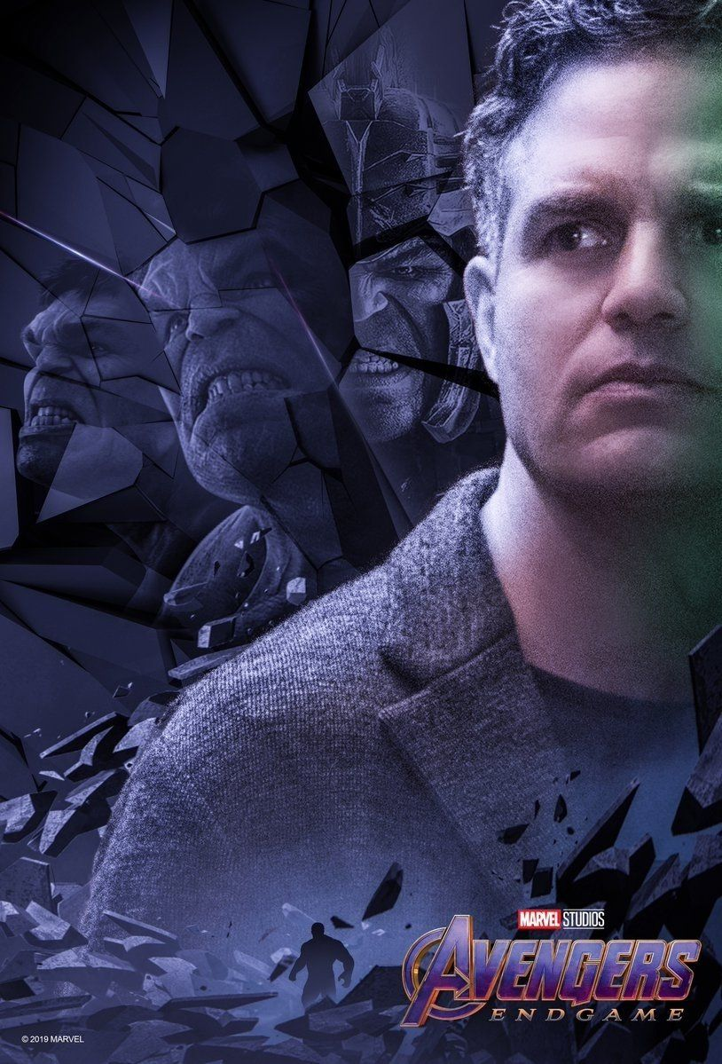 New Avengers Endgame Character Posters Released Bruce