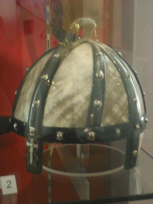 Anglo-Saxon helmet: Benty Gran...