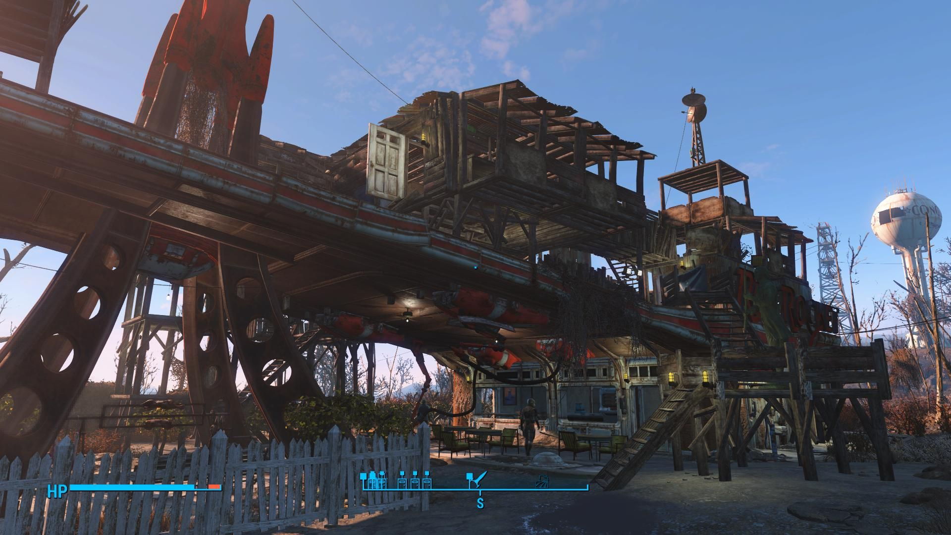 Red Rocket Bar And Grill The Finest Of Fine Dining In Entire Wasteland