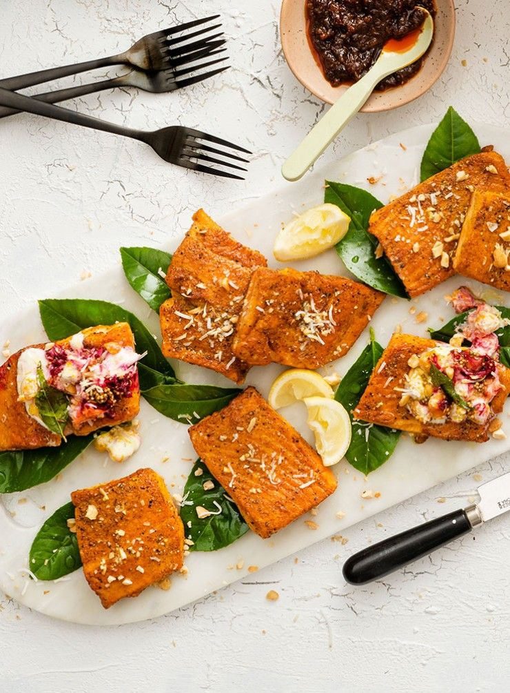 This Spiced Salmon Recipe Is Bursting With Flavour Serve With Chickpea Salad For A Meal Worthy