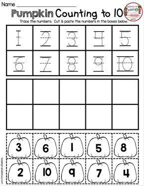 October Math And Literacy Pack Freebies Keeping My Kiddo Busy Fall Kindergarten October Math Preschool Math