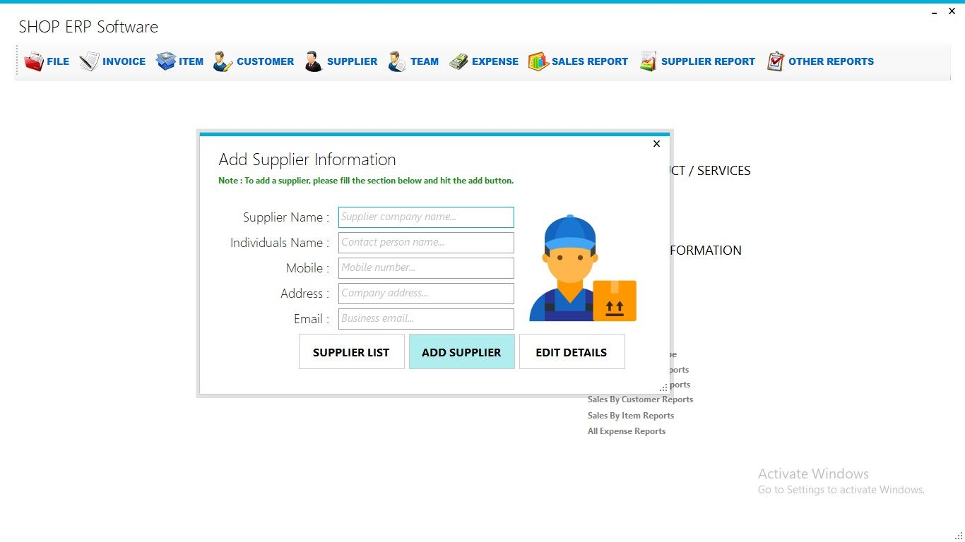 Business Shop Erp With Full Project Source Code C Coding Source Code Inventory Accounting