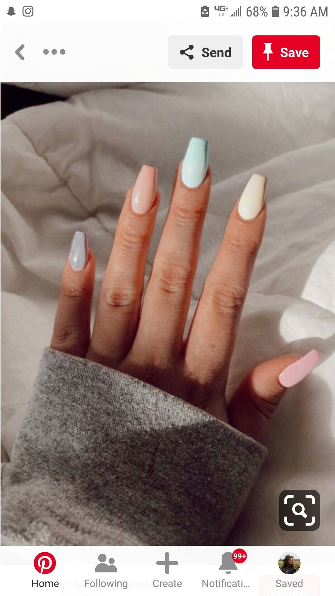 Pin By Ohnoitslygia On Pretty Things Pretty Acrylic Nails Dream