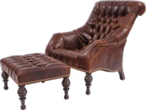 Image Result For Leather Reclining Wingback Chair