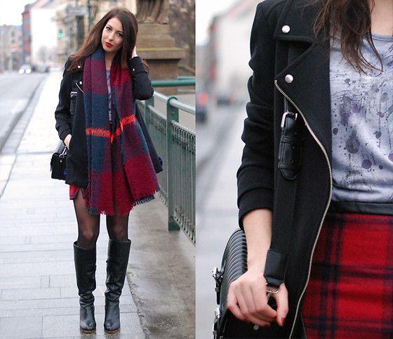 Zara Scarf, Zara Bag, Diy Skirt