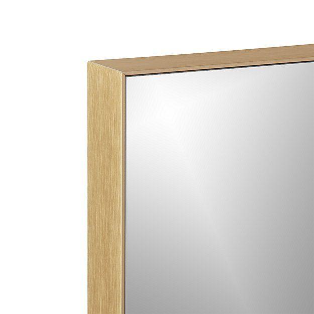Shop Infinity Brass 10 5 Quot X54 Quot Narrow Wall Mirror