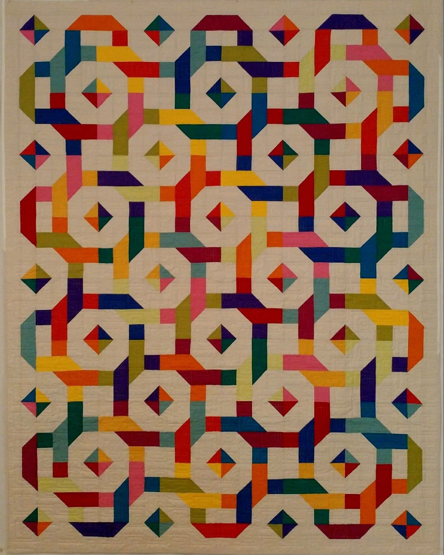 107 Over And Under Rainbows Asheville Quilt Guild Stripe Quilts