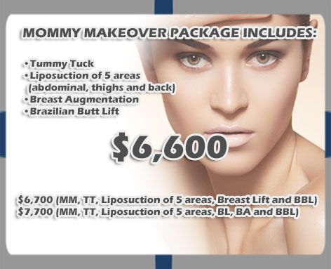 Best Mommy Makeover Package in Mexicali Mexico | Cosmetic / Plastic