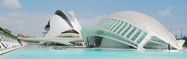 Santiago Calatrava Famous Works  #SantiagoCalatravaArchitecture Pinned by www.modlar.com