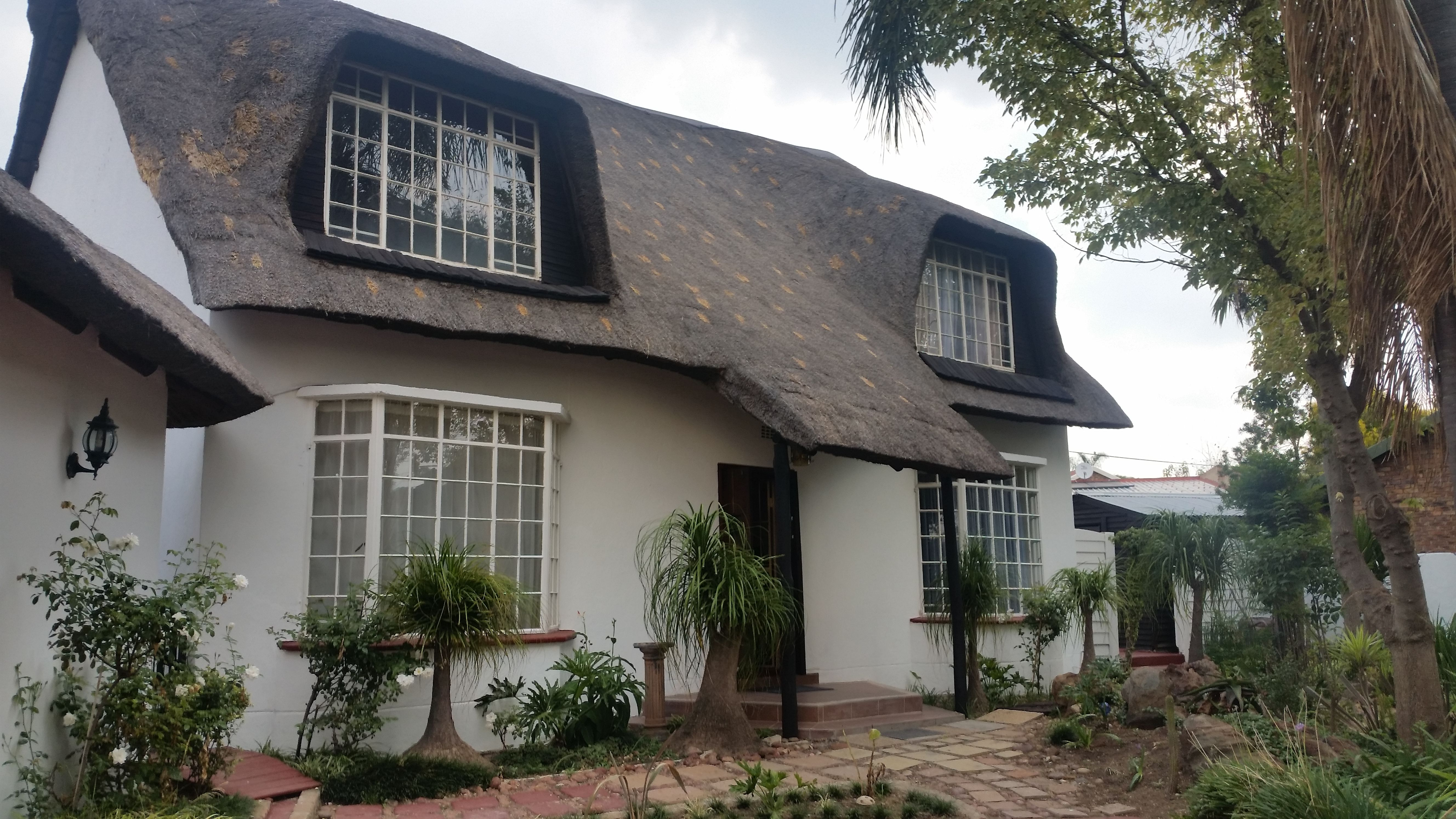 Stunning Double Storey Thatched Roof Property In Enclosed Area Beautiful Street Appeal Brand New Very Spacious Open Built In Braai Thatched Roof House Styles