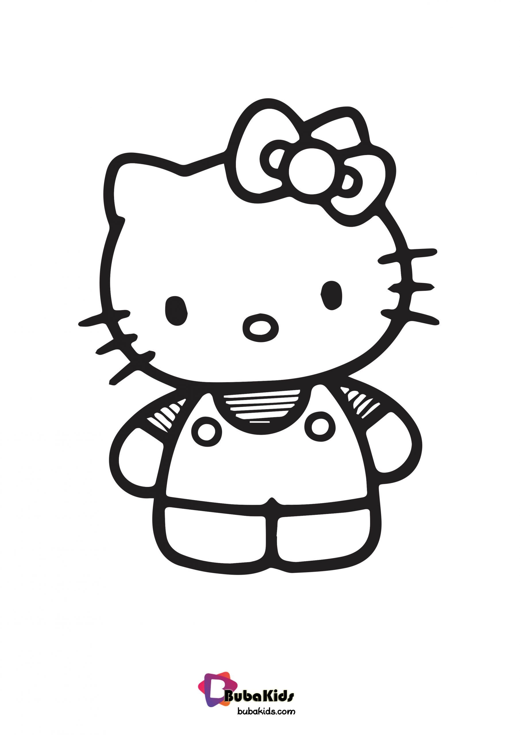 Hello Kitty Cute Coloring Page For Girls Collection Of Hello Kitty Coloring Pages For Hello Kitty Colouring Pages Cute Coloring Pages Coloring Pages For Girls
