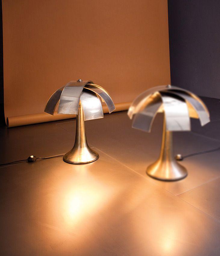 Lampada Da Tavolo Mod 559 : Lot gabrilella crespi rara lampada da tavolo mod