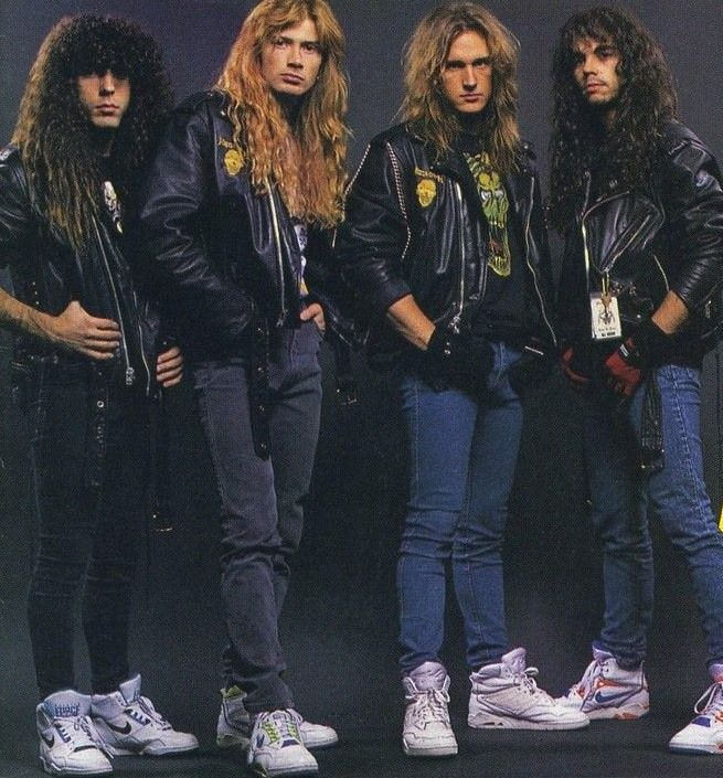 Megadeth megadeth pinterest megadeth dave mustaine and metals Rock and fashion style originating in seattle