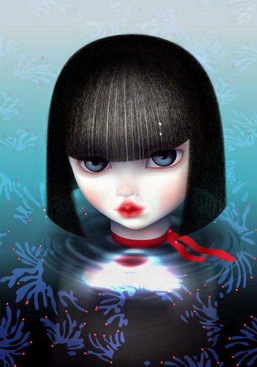 Marie Blanco Hendrickx(Mijn Schatje)...   Kai Fine Art