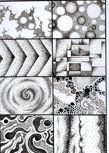 Educacion Artistica En Esb 3º A Consignas Dibujos Abstractos Dibujo Con Lineas Dibujos De Puntos