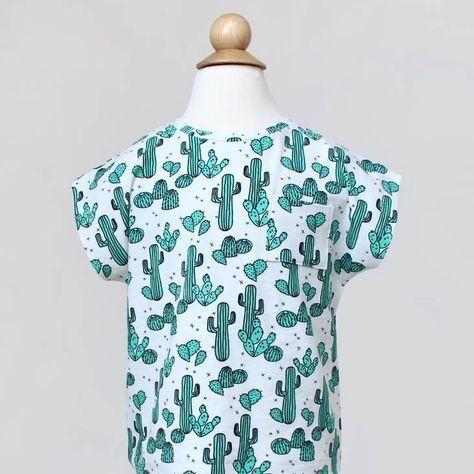 Kindershirt im Kimono-Stil - Freebook