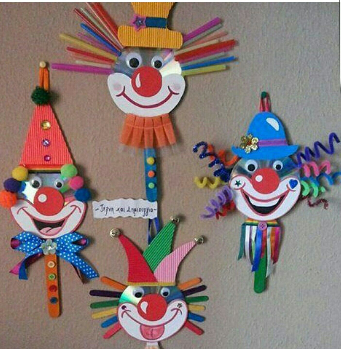 Discover Ideas About Circus Crafts