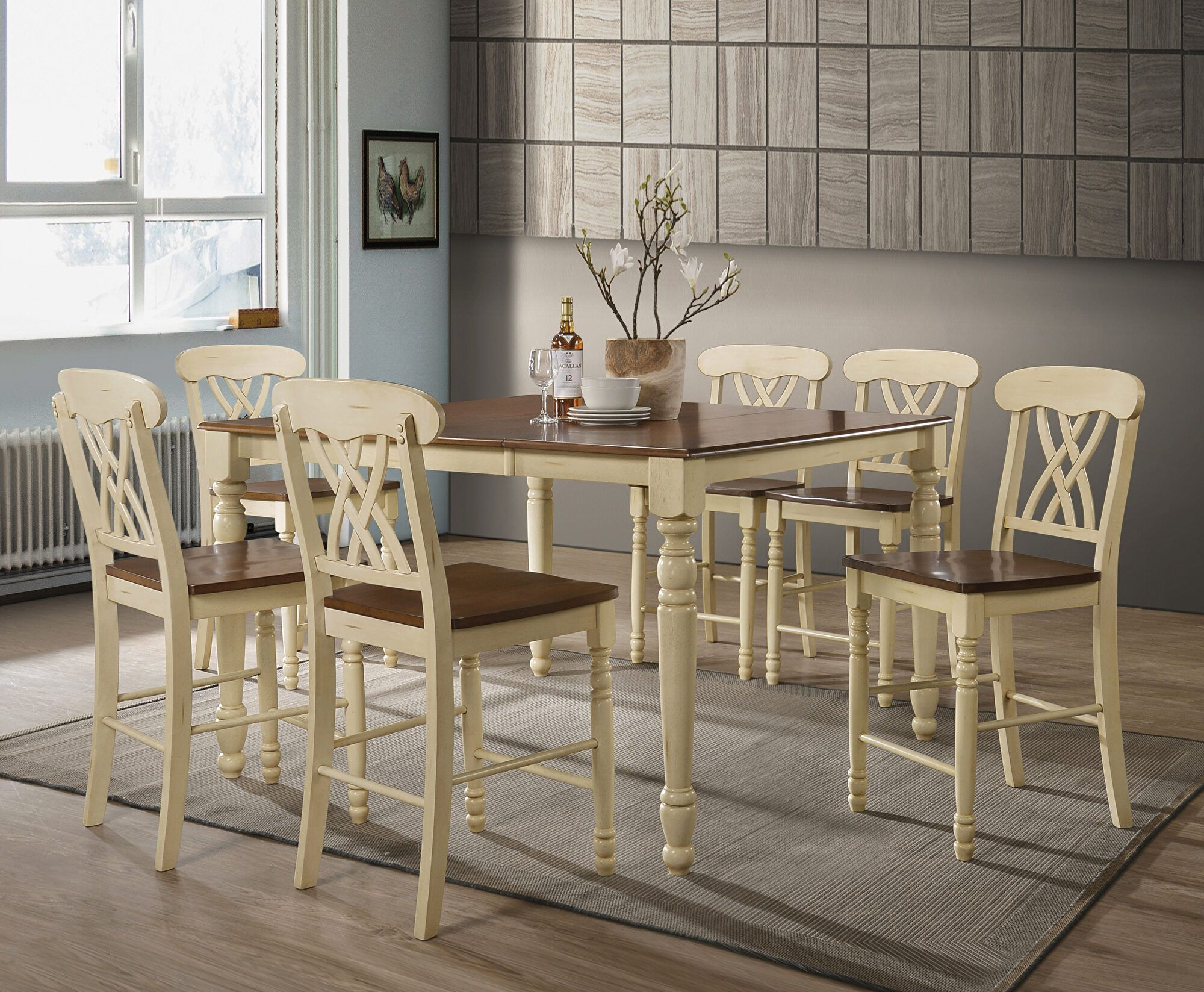 Dylan Table 70430 Acme Corporation Counter Height Dining Sets In 2020 Acme Furniture Furniture Counter Height Dining Sets