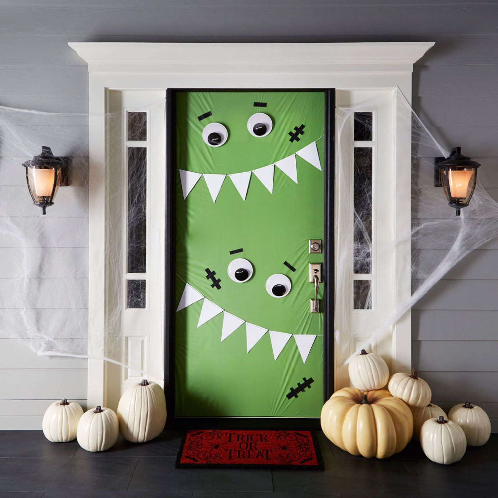 Monster Door Décor - Great inspiration for the monster theme - Halloween Door Decorations