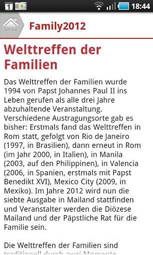 VII. Welttreffen der Familien, katholische Kirche, Family2012, Papst Benedikt XVI, Mailand  http://Mobogenie.com