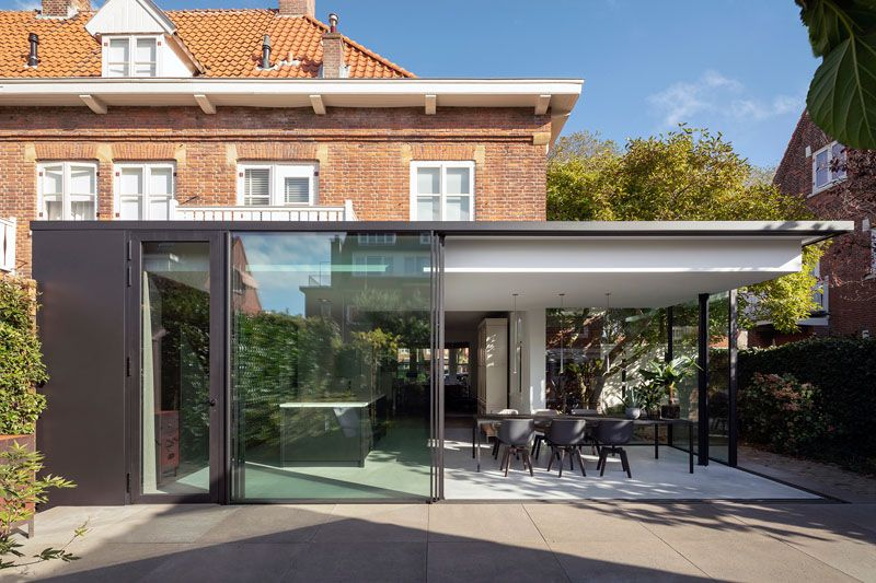 A Contemporary Extension For This 1920s House In The Netherlands 1920s House House Architecture Design Architecture