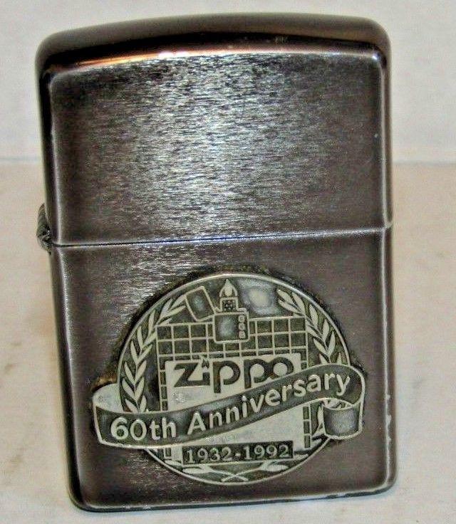 1992 Used Zippo Lighter 60th