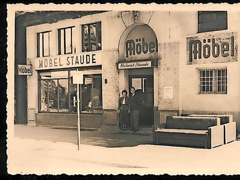 Hannover Nordstadt 1948 Möbel Staude Am Engelbosteler Damm 1948