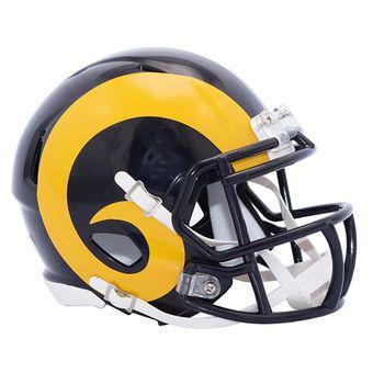 Riddell Los Angeles Rams Color Rush Revolution Speed Mini Football Helmet  #rams #larams #