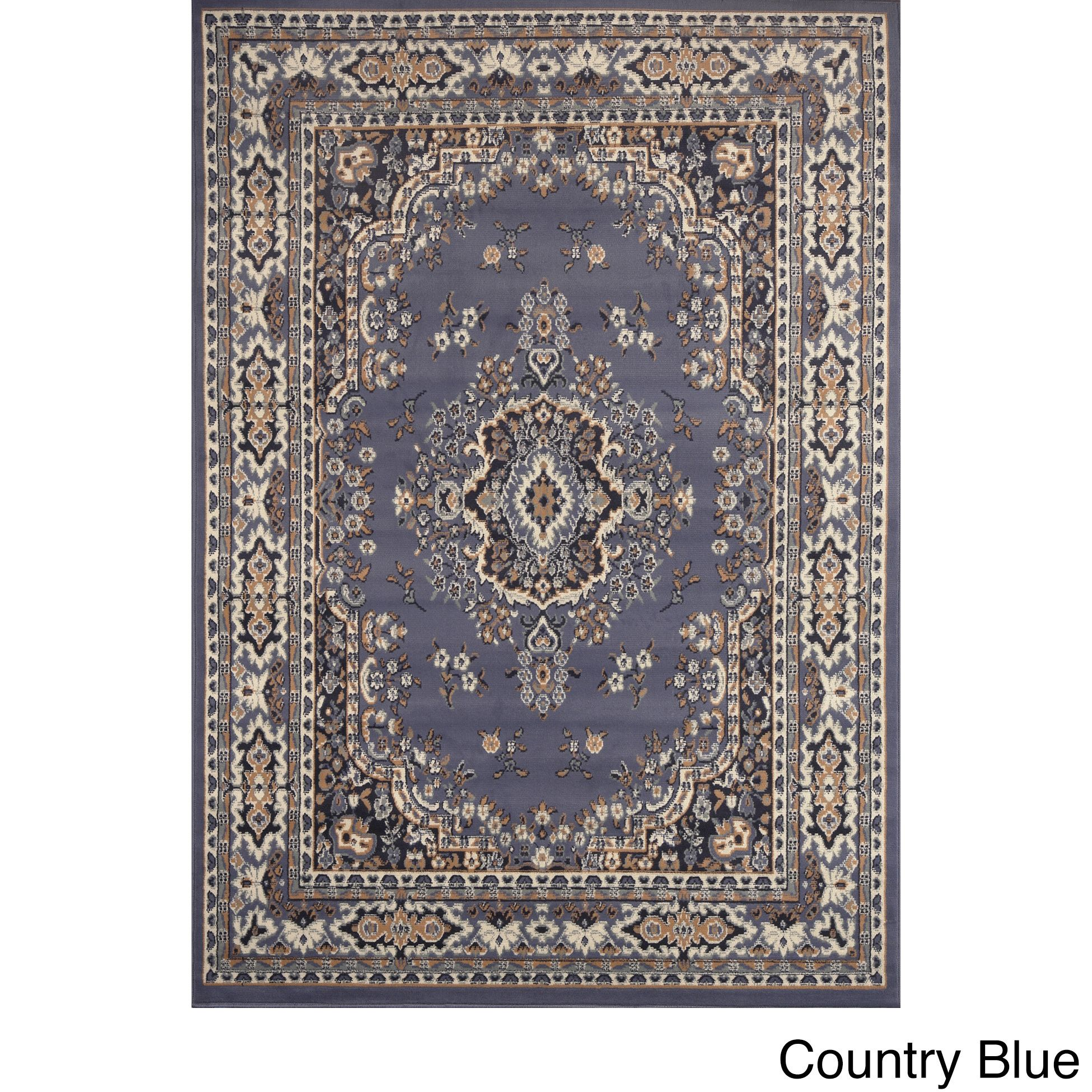 home dynamix premium collection traditional area rug (7'8x10'7) by