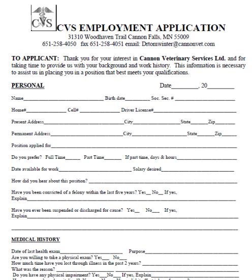 Image by DIY Home Decor on Job Application Forms Job