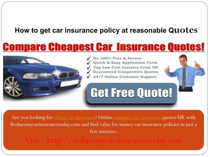 Cheap Car Insurance Online Compare Car Insurance