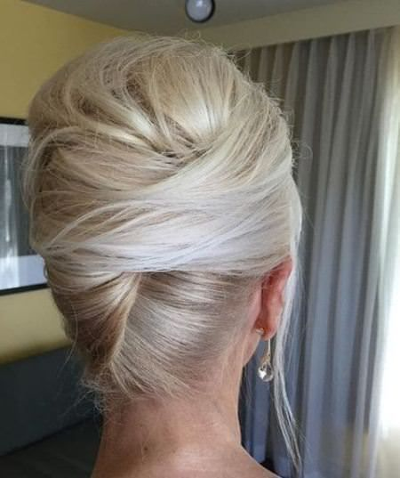 40 Wedding Hairstyles For Long Hair That Really Inspire: French Twist Hair, Mother Of The