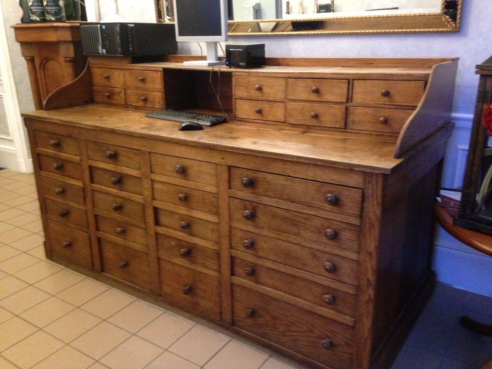 Petit Etabli Bois Ancien meuble bois petite armoire de rangement avec tiroirs jouet
