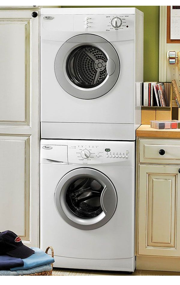 Images Of Whirlpool White Compact Laundry Pair With Wfc7500vw 24
