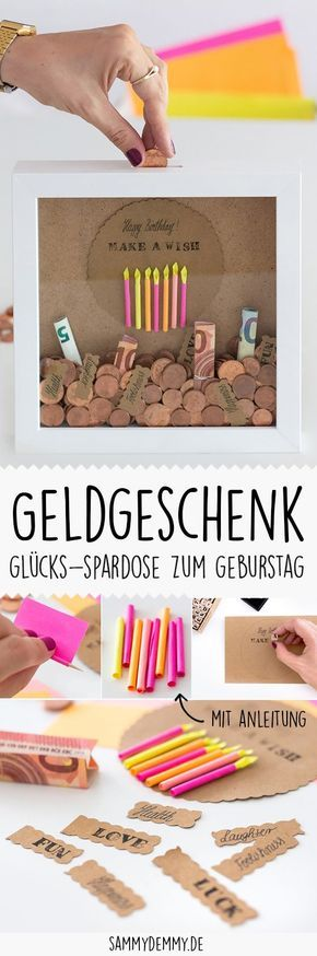 Geschenkidee Geldgeschenk Geldgeschenk Geburtstag Teenager