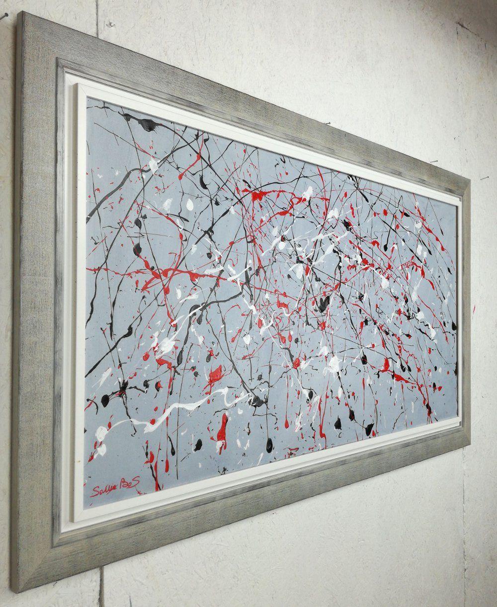 quadro astratto moderno olio su tela 120x60 per info: http://www ...