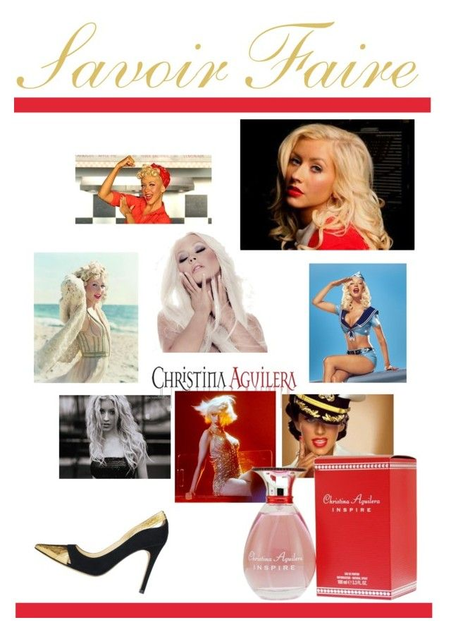 """CHRISTINA AGUILERA"" by pursue-happiness ❤ liked on Polyvore featuring beauty"