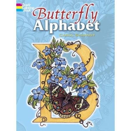 Books Coloring Books Alphabet Coloring Butterfly Drawing