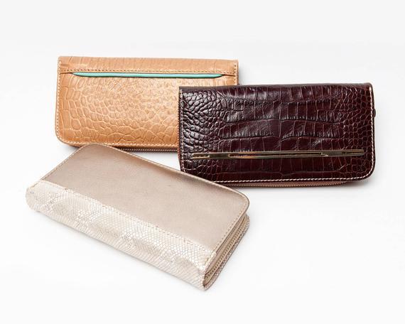 Leather zipper wallets for women 211d69a2a0