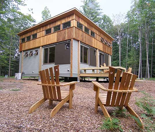 Another great cottage in a day  prefab modules made in America