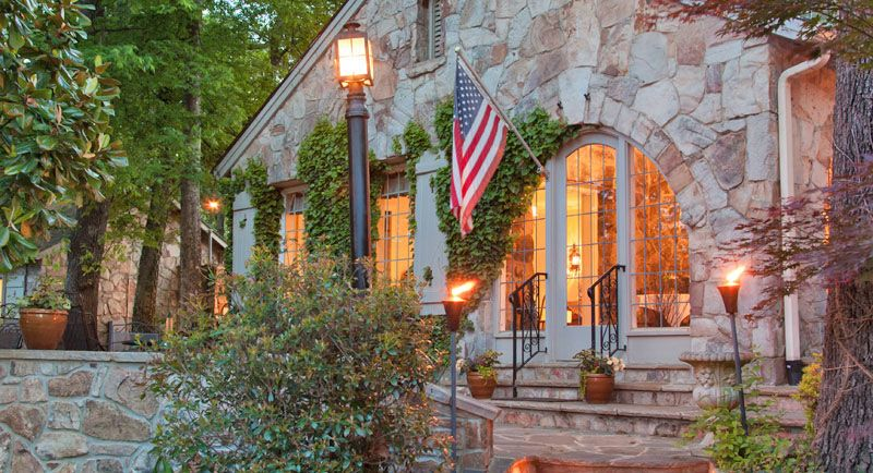 Stay in a Stone Cottage Atop Lookout Mountain at the