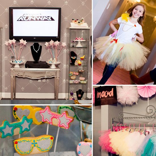 Project Runway Kids Birthday Party!!! my mom would love this