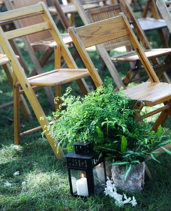 Decoración con helechos para bodas campestres. #BodasCampestresCali