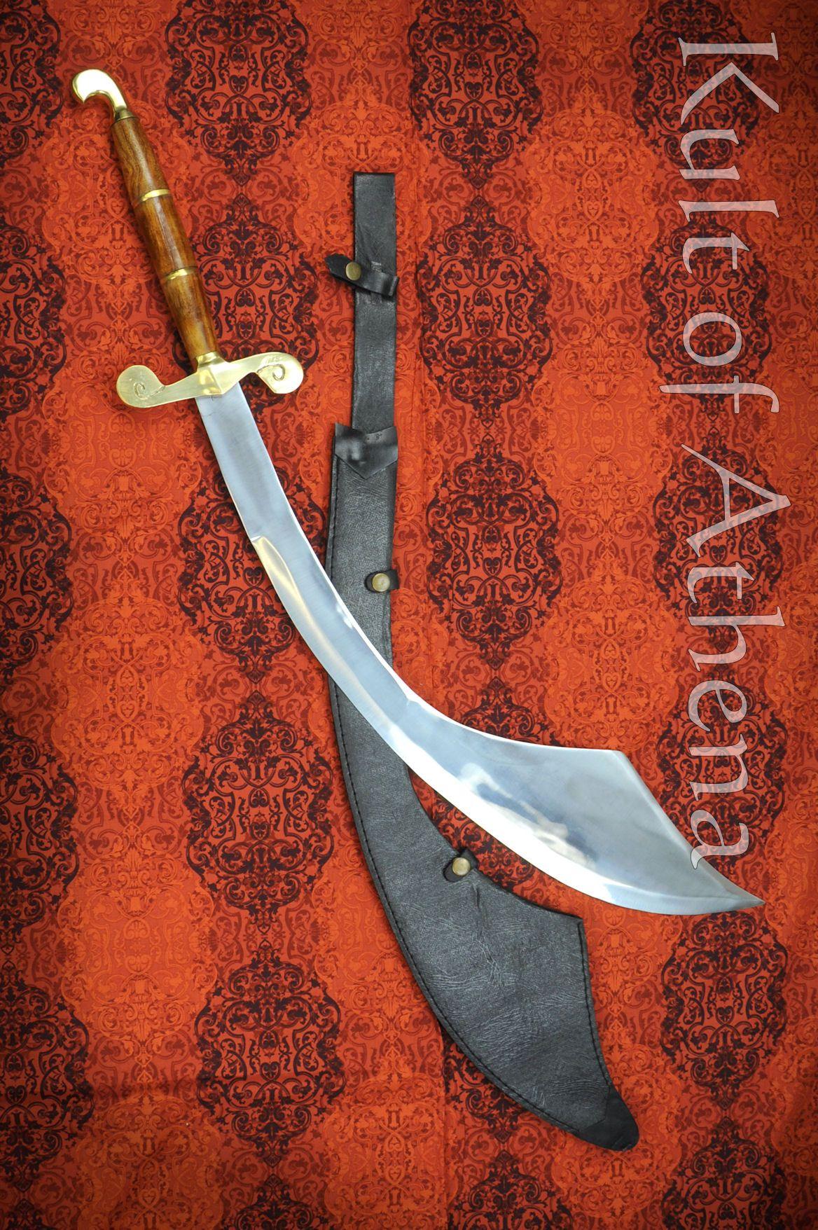 Balanced Sword Belly Dancing Head Balancing Fire Sword Moorish Scimitar